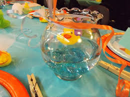 fish bowl centerpieces interesting baby shower fish bowl centerpieces 74 about remodel