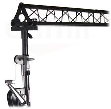 Truss Lighting Crank Up Triangle Truss Light Stand System U2013 Dj Lighting Trussing