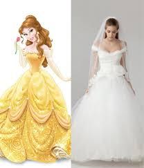 princesses wedding dresses modern wedding dresses for every disney princess wedding dresses