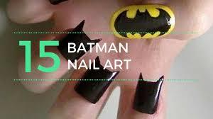 designs of batman nail art youtube