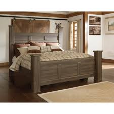 Dollhouse Bedroom Set By Ashley Signature Design By Ashley Juararo King Poster Bed Beds Home