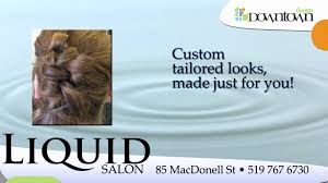 liquid salon guelph youtube