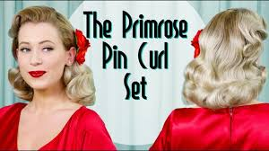 pin curl vintage set with the primrose pin curl set bobby pin
