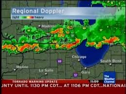 weather map chicago weather channel july 22 2010 tornado warning local forecast