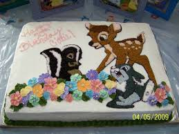 16 best bambi birthday images on pinterest disney cakes