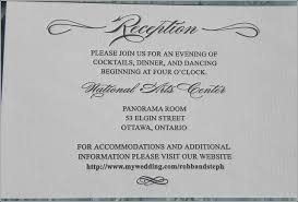 wedding invitations ottawa wedding invitation wording reception only vertabox
