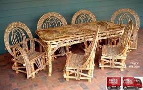 fancy willow outdoor furniture patio furniture garden furniture