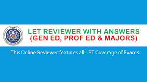 online let reviewers with answers gen ed prof ed and majors