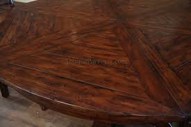 Round Dining Room Table Seats 8 Dining Tables Barn Wood Dining Room Table Large Round Dining