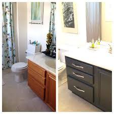 painting bathroom vanity white bathroom vanity makeover with