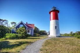 Best Cape Cod Lighthouses - nauset beach lighthouse logo for famous cape cod potato chips
