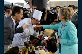 baisee dans sa cuisine rhône j ai cuisiné pour clinton et donald