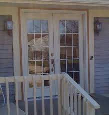 Wood Patio Doors With Built In Blinds by Anderson French Doors Steel Full Lite In Swing French Patio Door