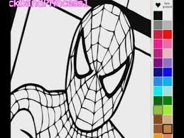 spiderman coloring pages spiderman coloring book