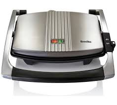 Toaster Press Buy Breville Vst025 3 Slice Sandwich Press Stainless Steel At