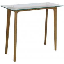 console bureau design console bureau design verre et bois scandinave fiord l 100xp 40xh