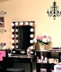 Makeup Vanity Light Vanity Table With Mirror And Lights Home Vanity Decoration