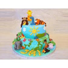jungle theme cake jungle book theme cakes