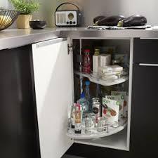 plateau tournant meuble cuisine meuble d angle de cuisine avec plateau tournant cuisinez pour