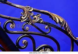 ornamental wrought iron fence stock photos ornamental wrought