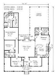 Cottage Floor Plan Farm House Floor Plans Hahnow