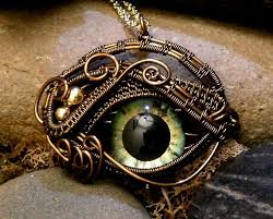gothic steampunk necklace images Cool gothic steampunk eye necklace lot of these prices are high jpg