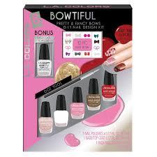 l a colors 8 pc bowtiful d i y nail kit beauty beauty