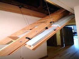 installing pull down attic stairs mezzanine and attic designs