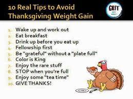 staying on track through thanksgiving week