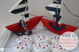 nautical wedding favors nautical wedding favors top 10 nautical favors emmaline