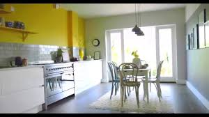 yellow kitchen ideas kitchen ideas create a yellow grey colour scheme with dulux