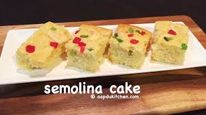 Homemade Coconut Cake by Semolina Cake Recipe Eggless Rava Cake Recipe Coconut Orange