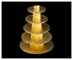 5 tier cupcake stand 3417 gold cupcake stand 5 tier wall corrugated