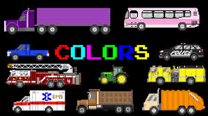 vehicle colors featuring street vehicles the kids u0027 picture