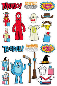 coolest free printable halloween paper dolls kids busy