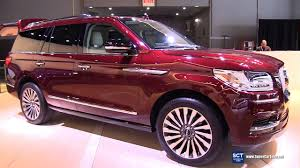 lincoln supercar 2018 lincoln navigator exterior and interior walkaround debut