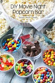diy sleepover ideas for popcorn bar popcorn and bar