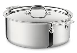 all clad stainless steel stock pot with lid u0026 reviews wayfair