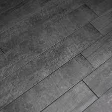 Anthracite Laminate Flooring Cemento Wood Antracite 15x90cm Gs N5092 Tile Ceramic Planet