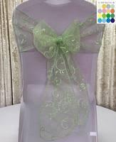 mint chair sashes chair sashes welmatch wedding mart