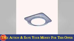 watch overview of nutone qtnleda lunaura round design light best