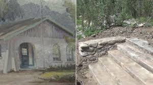 Casitas by Drought Uncovers Foundation Of From 1900s At Lake Casitas