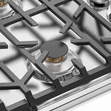 viking professional 5 series 30 inch 5 burner propane gas cooktop