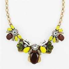 collar bib necklace images Burgundy crystal necklace mixed media statement collar bib jpg