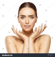 woman face hands beauty skin care stock photo 588770069 shutterstock