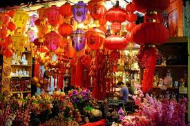Tamil New Year Bay Decoration by Chinese New Year In Singapore 2017