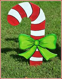 Candy Cane Outdoor Decorations Candy Cane Decoration Candy Cane Yard Art Outdoor Christmas
