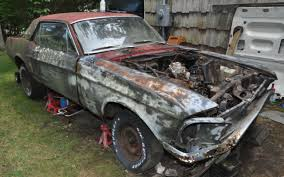 ford mustang 1968 coupe 1968 ford mustang coupe 289 3 speed manual for parts