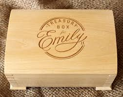 personalized wooden boxes custom wood box etsy