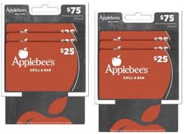 applebee s gift cards applebee s gift card only 50 at cvs 75 value mexicouponers